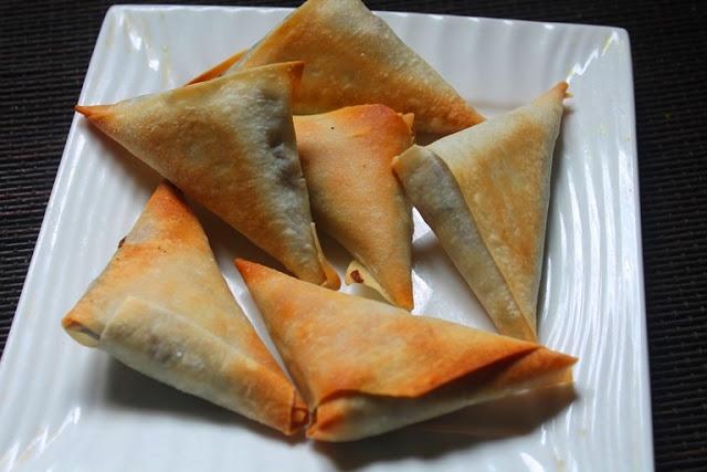 Baked Chinese Style Samosa Recipe