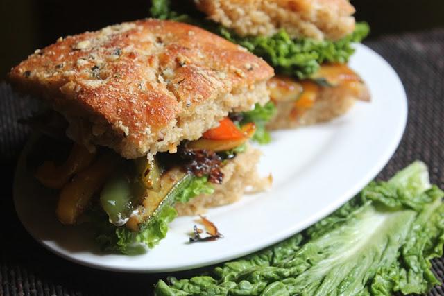 Veggie Focaccia Sandwich Recipe – Focaccia Sandwiches Recipe