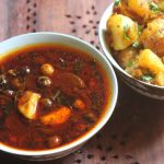 Sundakkai Vathal Kuzhambu & Chutta Appalam Recipe – Vatha Kuzhambu Recipe
