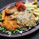 Fried Chicken Sizzler Recipe – Continental Recipes 2