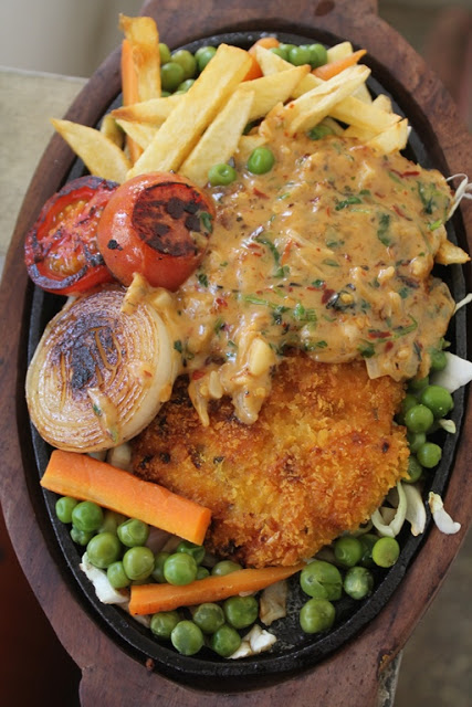 Fried chicken sizzler recipe continental recipes 2 yummy tummy forumfinder Choice Image
