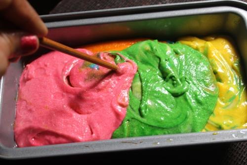 Rainbow Cake Recipe Joy Of Baking: Rainbow Loaf Cake Recipe