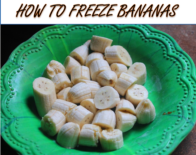 How to Freeze Bananas at Home
