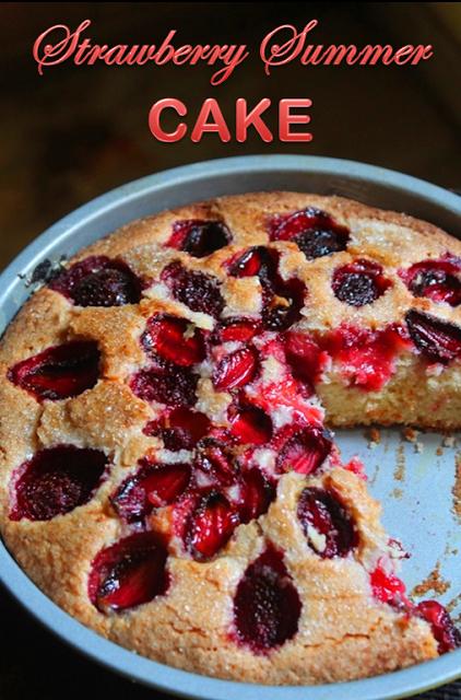 Strawberry Summer Cake Recipe Yummy Tummy