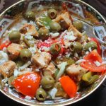 Warm Italian Chicken Salad Recipe