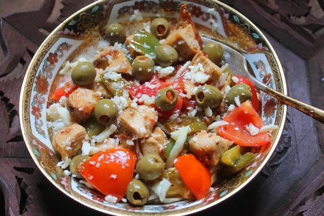 Warm Italian Chicken Salad Recipe