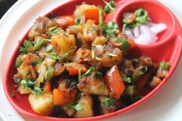 Chatpate Aloo Chaat Recipe