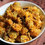 Raw Banana Coconut Stir Fry Recipe – Vazhakkai Thoran Recipe