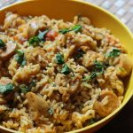 Chicken Sausage Biryani Recipe