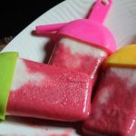 Healthy Strawberry Yogurt Popsicles Recipe