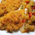 Baked Crispy Chicken Breast with Pineapple Salsa Recipe – Continental Food 3
