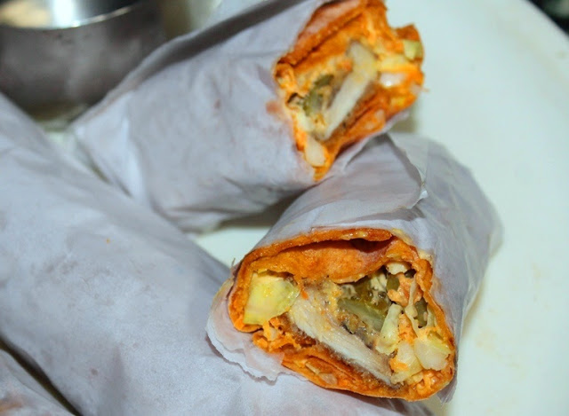 Chicken Dazzle Wrap Recipe