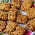 Banana Mini Morsel Cake Bars Recipe – Eggless Banana Chocolate Chip Cake Squares Recipe