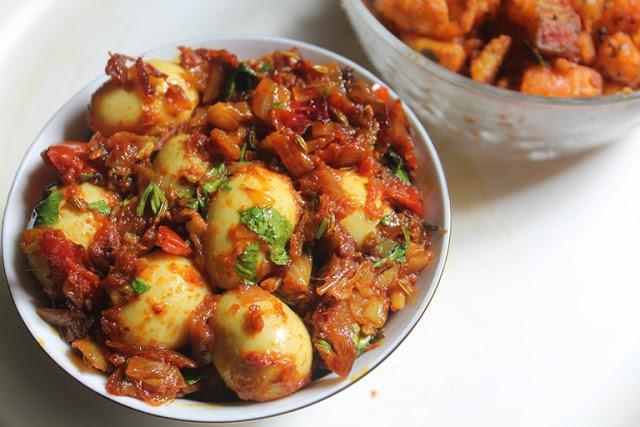 Quail Egg Roast Recipe – Kaada Muttai Roast Recipe