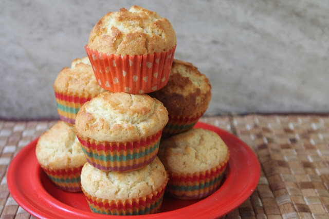 Bakery Style Vanilla Muffins Recipe