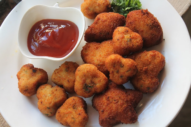 Chicken Nuggets Recipe – Shaped Chicken Nuggets for Toddlers & Kids