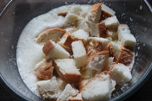 Classic Bread Pudding with Vanilla Custard Sauce Recipe ...