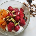 Granola & Yogurt Breakfast Fruit Bowl