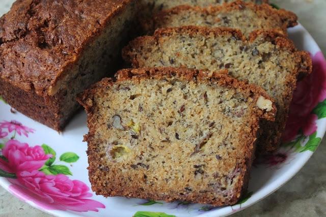 Basic Banana Bread Recipe – Bakery Style Banana Bread Recipe