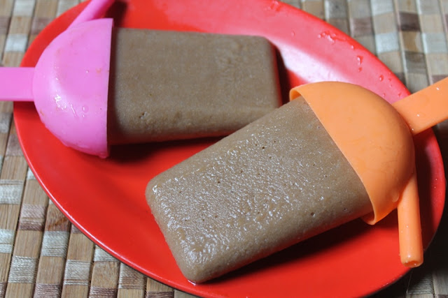 Chikku Popsicles Recipe – Sapota Posicles Recipe