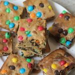 Oreo & M&M Cookie Bars Recipe – M&M Oreo Slice Recipe