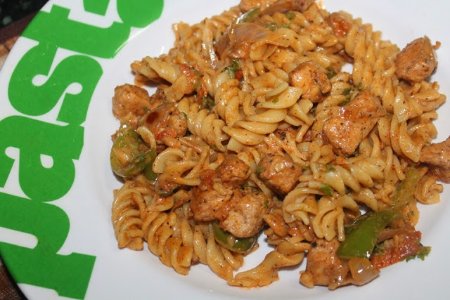 Cajun Chicken Pasta – Kids Lunch Box Ideas 3