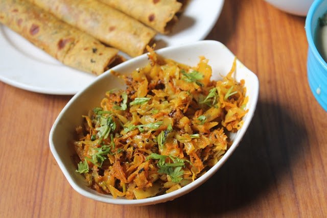 Carrot and Cabbage Kachumber Recipe – Gujarati Sidedish