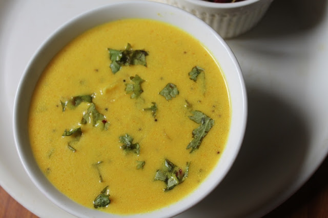 Dahi Kadhi Recipe – Plain Yogurt Kadhi Recipe