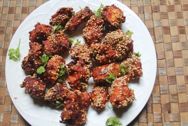 Schezwan Chicken Fry Recipe