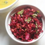 Beetroot Kosambari Recipe – Grated Beetroot & Moong Dal Salad Recipe