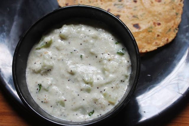 Chow Chow Paal Kootu Recipe – Chayote Milk Kootu Recipe