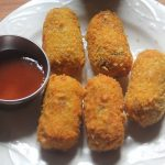 Crispy Chicken Bullets Recipe