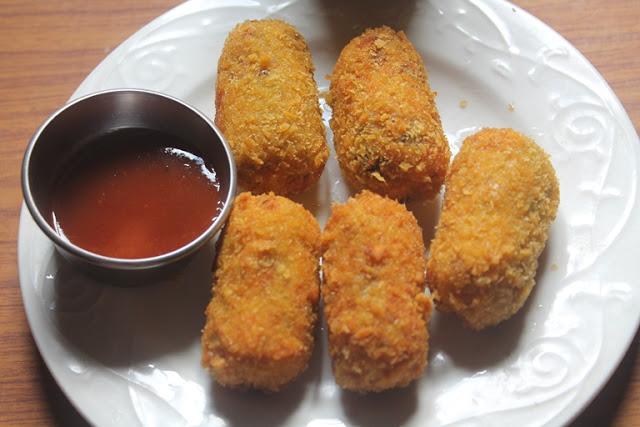 Crispy Chicken Bullets Recipe