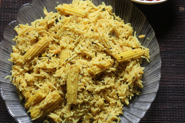 Baby Corn Pulao Recipe – Baby Corn Recipes