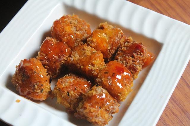Golden Crispy Tofu Recipe – Panko Crusted Tofu Bites Recipe