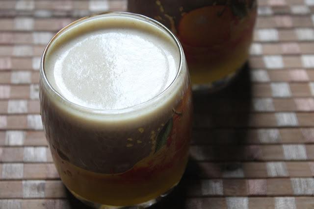 Ragi Badam Milkshake Recipe – Finger Millet Milkshake Recipe – Healthy Breakfast Smoothie Recipes
