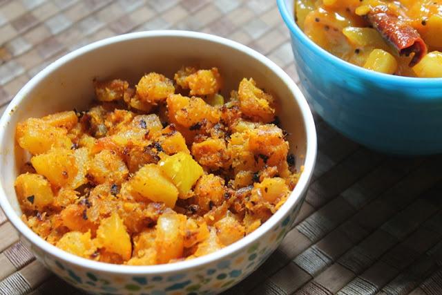 Stir-Fried Pumpkin Recipe – Pumpkin & Coconut Stir Fry Recipe