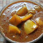 Easy Pumpkin Puli Kuzhambu Recipe – Poosanikai Puli Kulambu Recipe