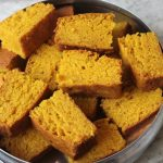Eggless Fresh Mango Cake Recipe – Eggless Whole Wheat Mango Cake Recipe
