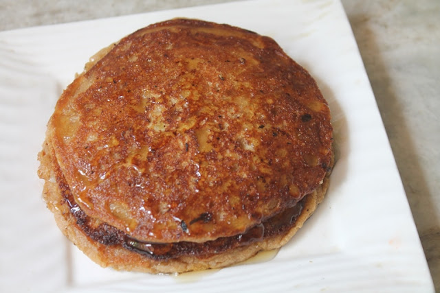 Eggless Wheat Bran Pancakes Recipe – Vegan Option Included