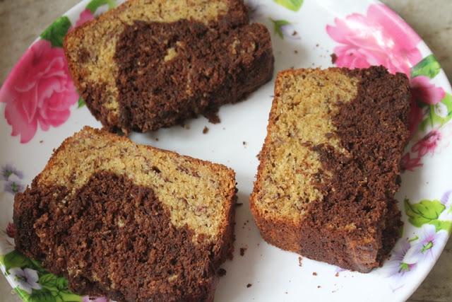 Banana Rum Chocolate Chip Pound Cake