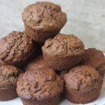 Chocolate Wheat Bran Muffins Recipe
