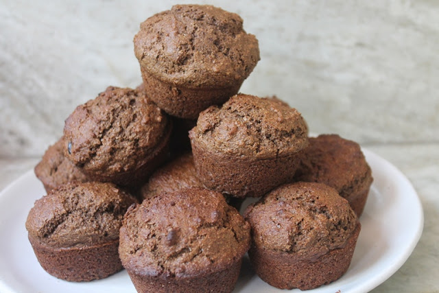 Chocolate Wheat Bran Muffins Recipe