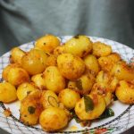 Baby Potato Poriyal Recipe – Baby Potato Roast Recipe