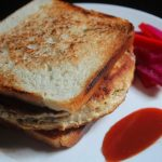 Chicken & Cheese Patty Sandwich Recipe