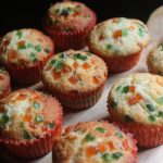 Bakery Style Vanilla Tutti Frutti Muffins Recipe