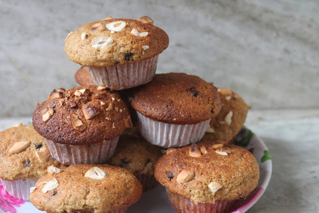 Bakery Style Wheat Bran Muffins Recipe