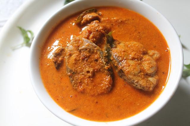 Vanjaram Meen Kuzhambu Recipe