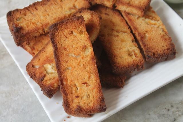 Leftover Cake Rusk Recipe