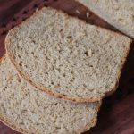 Soft 100% Whole Wheat Bread with Vital Wheat Gluten